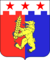 Coat of Arms of Krasnogvardeyskii district Stavropolye.png