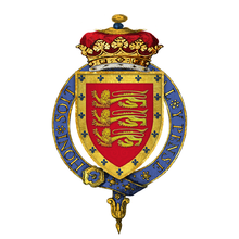 Coat of Arms of Sir John Holland, 1st Duke of Exeter, KG.png