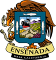 Coat of arms of Ensenada, Baja California.png