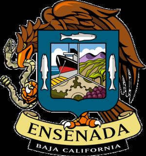 Valle de Guadalupe - Image: Coat of arms of Ensenada, Baja California