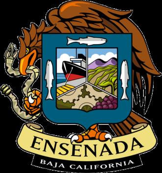 Ensenada Municipality - Image: Coat of arms of Ensenada, Baja California