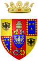 Coat of arms of the Este Dukes of Modena from 1597 till 1796.png