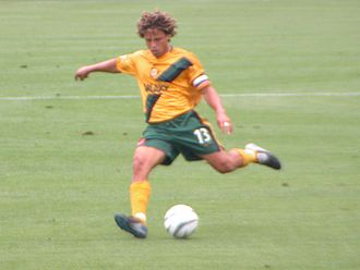 LA Galaxy - Cobi Jones playing for Galaxy in 2003