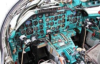 Tupolev Tu-22M - Cockpit