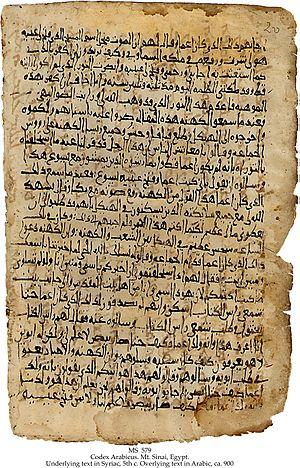 Bible translations into Arabic - Codex Arabicus