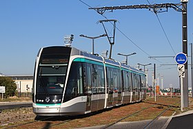 Le tramway à Orly