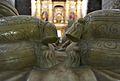 Coixins del sepulcre dels marquesos de Zenete, capella dels Reis, convent de sant Doménec de València.JPG