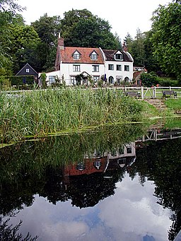 Cold Bath House and River Waveney - geograph.org.uk - 221982