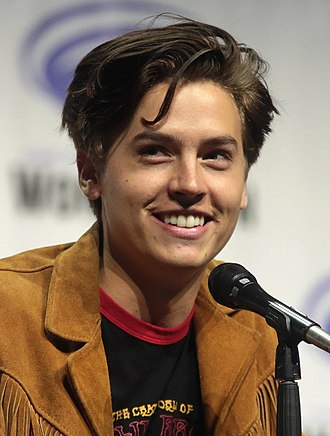 Cole Sprouse - Sprouse at WonderCon in 2017