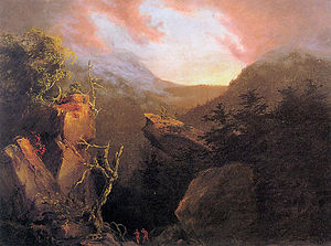 Cole Thomas Mountain Sunrise Catskill 1826