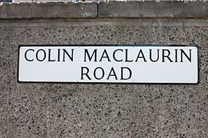 Colin Maclaurin - Colin MacLaurin Road, Edinburgh