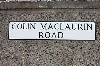 Colin Maclaurin - Colin MacLaurin Road, Edinburgh