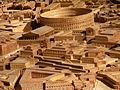 Colisée de la zone du forum, plan de Rome Paul Bigot Caen MRSH.JPG