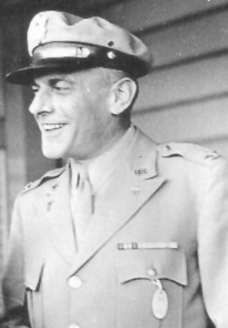 William Bleckwenn - Colonel William Bleckwenn in Australia, 1943 (US Army Photograph)