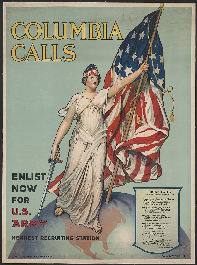 Columbia Calls - Enlist Now for U.S. Army - Halsted - Aderente