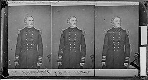 Garrett J. Pendergrast - Commodore Garrett J. Pendergrast, studio portrait by Mathew Brady