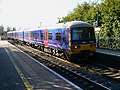 Commuter train towards Reading, Kintbury - geograph.org.uk - 1744999.jpg