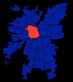Santiagos 37 kommuner
