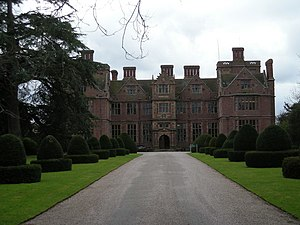Condover - Condover hall from the front driveway