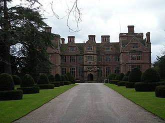 Condover Hall - Condover hall from the front driveway