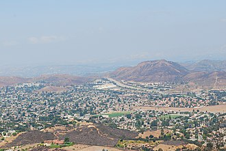 Stagecoach Inn (California) - View from Angel Vista, a peak reached from the Rosewood Trail.