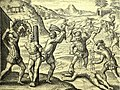 Conquistadors' abuses of Amerindians (1598 edition for las Casas' book).jpg