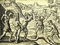 Torture of Islander Natives