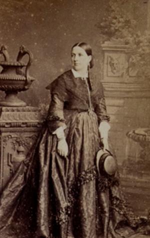 Constance Nantier-Didiée - Portrait of Constance Nantier-Didiée in 1860.