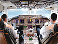 Continental Airlines Boeing 767-424ER flight deck.jpg