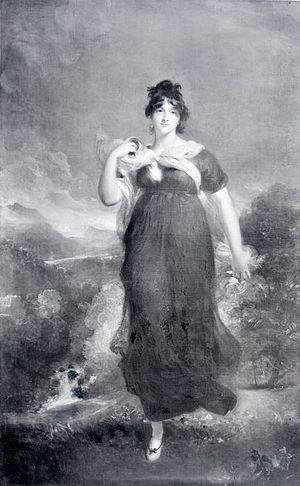 Elizabeth Conyngham, Marchioness Conyngham - Portrait of Lady Conyngham, 1801, by Sir Thomas Lawrence. Birmingham Museum and Art Gallery, Birmingham.
