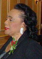 Coretta Scott King, wife of Martin Luther King, Jr.