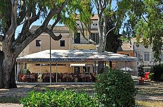 Taverna - Image: Corfu Anemomilos R02