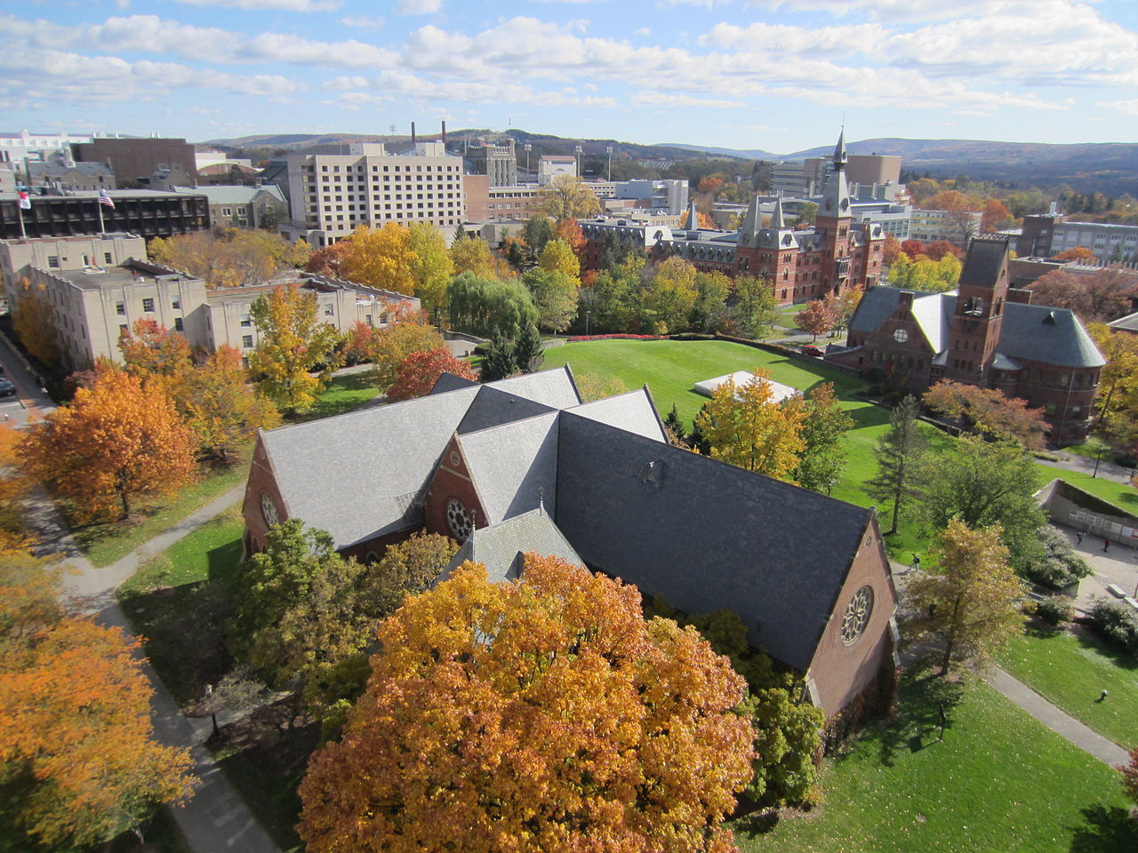 File:Cornell University from McGraw Tower.JPG