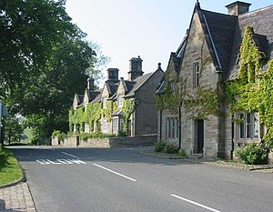 English: Cottages at Farley These cottages at ...