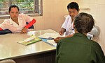 Counseling at a USAID-supported clinic in Dien Bien (8230905639).jpg