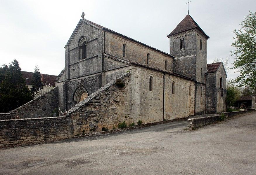 Église de Courtefontaine (Jura).
