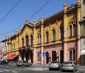 Croatian National Theatre in Osijek - Croatian National Theatre building in Osijek