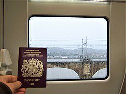 Crossing from France to Spain - exercising my EU citizen's right, which Brexit would remove - Flickr - TeaMeister.jpg