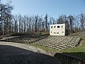Csillebérc Leisure Centre. Open-air theater. Control building. - Budapest.JPG