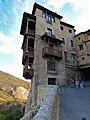 Cuenca, Casco Antiguo de la Ciudad, balcones colgantes.jpg