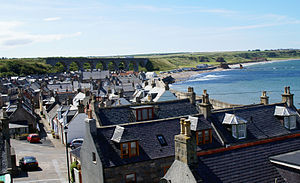 Cullen, Moray - Image: Cullen looking West