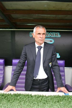 Héctor Cúper - Cúper in 2008 as Parma manager