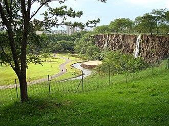 """Ribeirão Preto - """"Curupira"""" Park."""