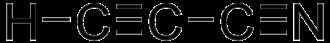 Cyanoacetylene - Image: Cyanoacetylene