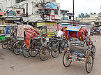 Cycle rickshaws, Puri.jpg