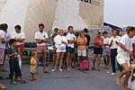 Dériveurs 18 pieds australiens au Salon Nautique International à Flot de La Rochelle 1987 (33).jpg