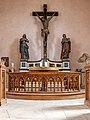 Dülmen, Kreuzkapelle, Altar -- 2021 -- 7148.jpg
