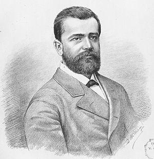 Nicolae Fleva - Nicolae Fleva in an 1881 lithograph