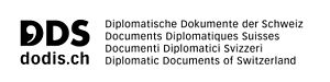 Diplomatic Documents of Switzerland - Logo of the Diplomatic Documents of Switzerland project.