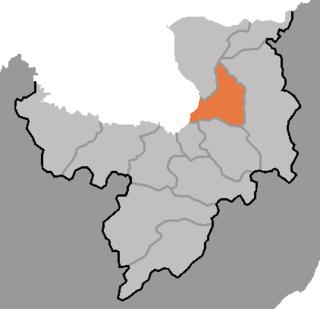 Pochon County County in Ryanggang, North Korea